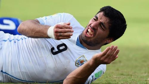 Luis Suarez- I didn't intentionally bite Giorgio Chiellini