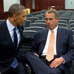 President Obama calls threats from House Speaker John Boehner, R-Ohio, to sue him over use of executive orders a 'stunt'