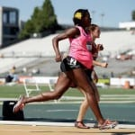 Very pregnant Alysia Montano runs at U.S. Championships
