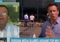 CNN Chris Cuomo In Heated Echange With Russian TV Anchor Peter Lavelle