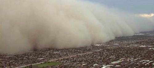 Dust storm knocks out power for thousands in Phoenix area