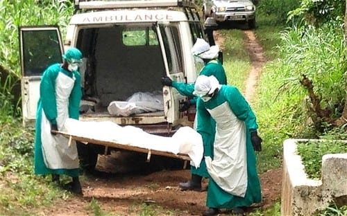 Ebola 'out of control' in West Africa as health workers rush to trace 1,500 possible victims