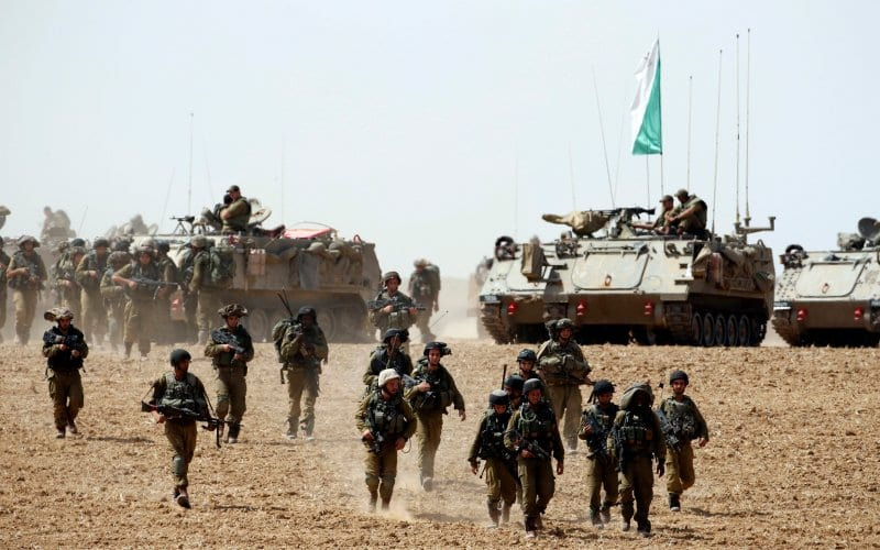 Israel Makes First Ground Move