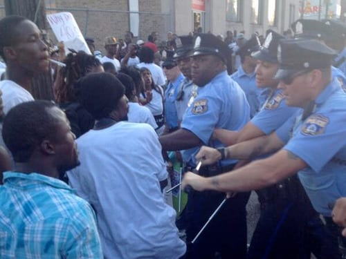 Protests in Philadelphia over delayed response time to fatal fire