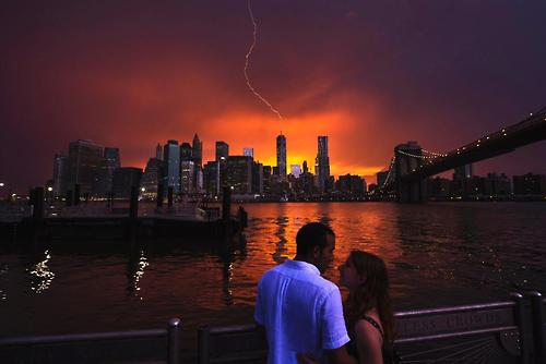 Severe weather hits New York