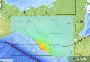 Two Dead After Magnitude-6.9 Earthquake Hits Southern Mexico And Guatemala