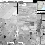 US releases images showing Russian rockets hitting Ukraine