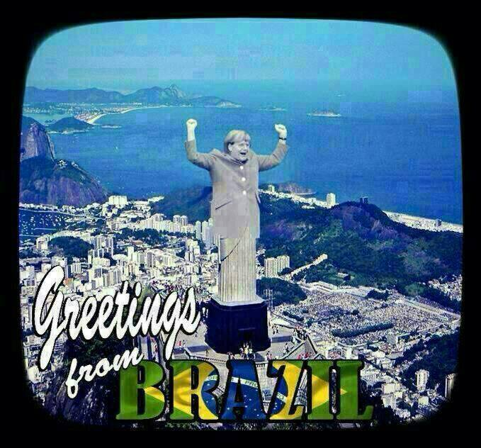 brazil loses bigtime to germany 7-1 in world cup 2014