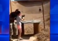 9-Year-Old Girl Loses Control Of Automatic Uzi