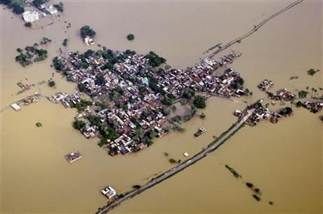 At least 180 dead in monsoon flooding in Nepal, India