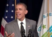 Barack Obama Sings 'Problem' by Ariana Grande