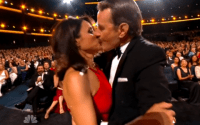 Brian Cranston & Julia Louis-Dreyfus Share Epic Kiss