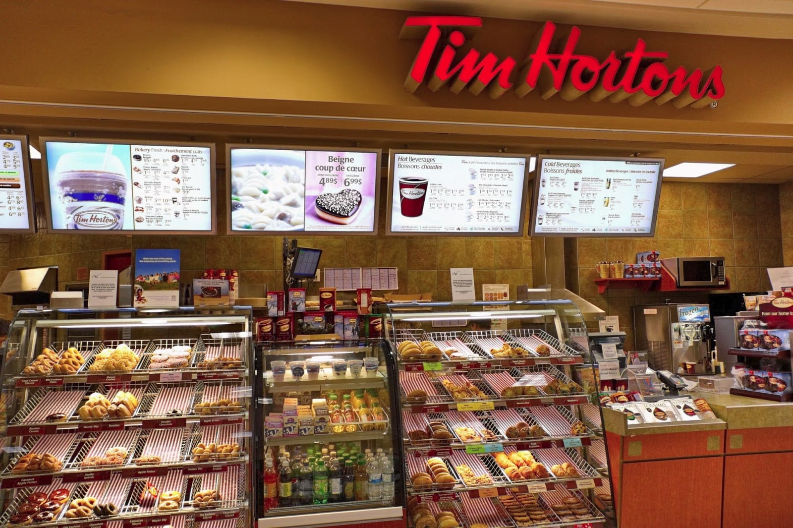 Burger King To Buy Canada's Tim Hortons & Move Office North
