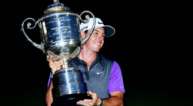 Rory McIlroy wins PGA Championship after dramatic finale at Valhalla