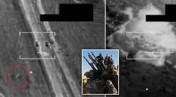 US Military Carries Out Second Round of Airstrikes on ISIS