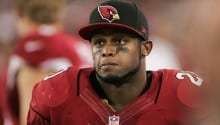 Cardinals running back Jonathan Dwyer arrested on assault charge