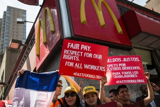 Fast Food Workers Strike In 150 Cities