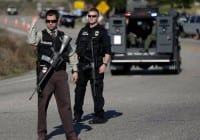 Manhunt For Gunman Who Shot Troopers Near Scranton, Pennsylvania