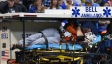 Pitch Fractures Face of Marlins Hittler