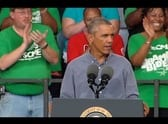 President Obama speaks at the 2014 Milwaukee Laborfest [VIDEO]