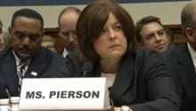 Secret Service Director Julia Pierson appears before the House Oversight Committee.