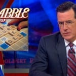 Stephen Colbert Takes News of 5,000 New Scrabble Words Rather Harshly on The Colbert Report