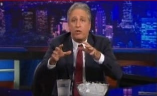 Stewart Blows Up on GOP Over Climate Change Pushing a Million Pounds of Idiot Up a Mountain