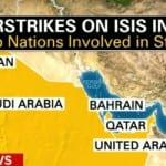 US Begins bombing ISIS in Syria