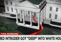 White House intruder ran through much of main floor