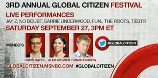 global citizen promo 2014