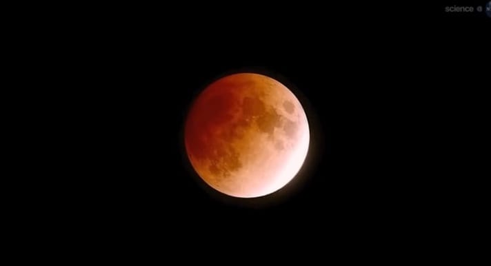 Blood moon total lunar eclipse 2014