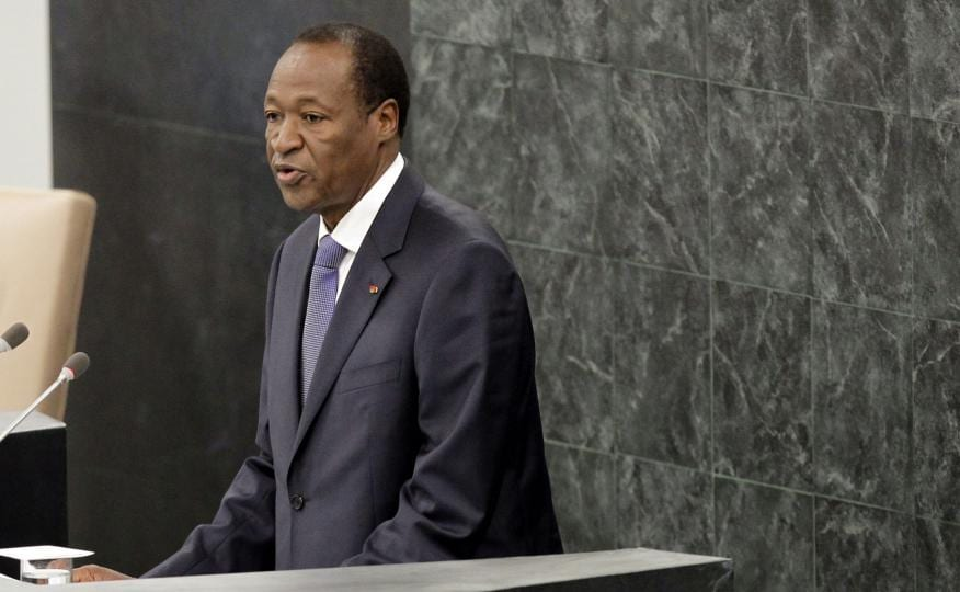 Burkina Faso's president resigns amid violent protests