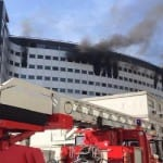 Fire at Radio France headquarters