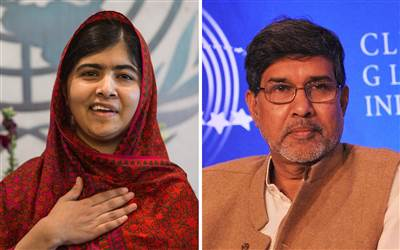 Malala Yousafzai and Kailash Satyarthi win Nobel Peace Prize