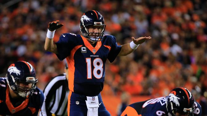 Peyton Manning Breaks Touchdown Record