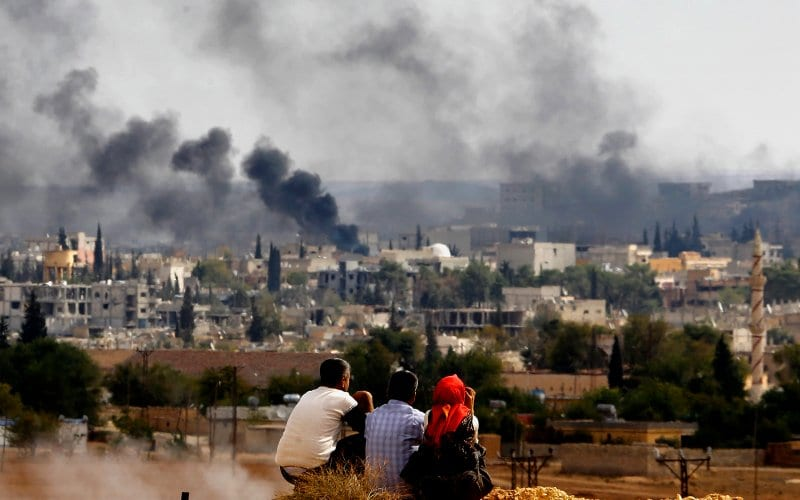 U.S. Leads New ISIS Bombardment