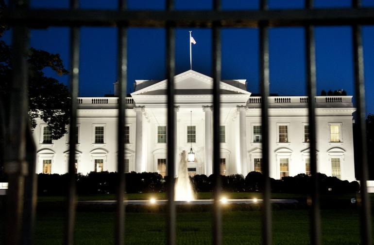 Armed Woman Arrested Outside White House