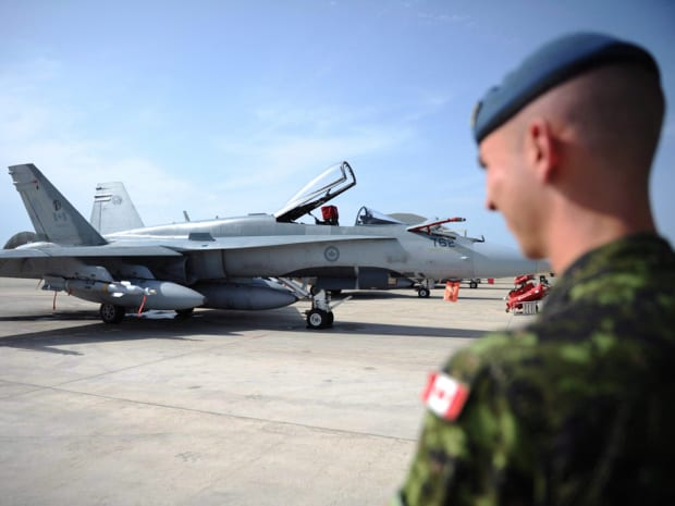 Canada drops missiles over Iraq in campaign against Islamic State
