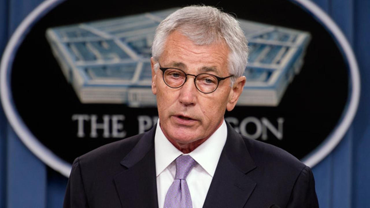 Defense Secretary Chuck Hagel to step down