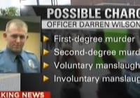 Ferguson Grand Jury Comes to a Decision Darren Wilson Possible Charges