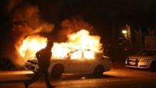 Fires, chaos erupt in Ferguson after grand jury doesn't indict in Michael Brown case