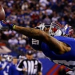 Giants' Beckham Makes Catch of the Year