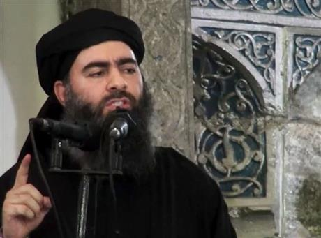Iraqi officials say Islamic State leader wounded; US cannot confirm