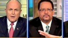 Racial Rant- Giuliani and Dyson Shout Down on MTP [VIDEO]