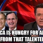 Colbert Jeb Bushs Presidential Ambitions [VIDEO]