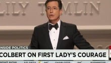 Colbert on the First Lady's courage [VIDEO]