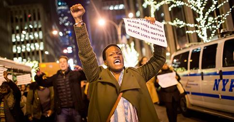 Protests erupt following Eric Garner grand jury decision