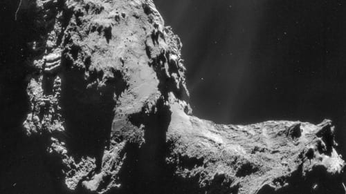 Rosetta results reveal water on comet different from Earth's water