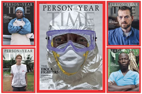 TIME Magazine's 2014 Person of the Year revealed