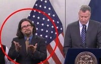 Interpreter steals the show at Bill de Blasio pre-blizzard press conference [VIDEO]